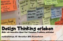 Design Thinking erleben bei der medienplantage in Bremerhaven